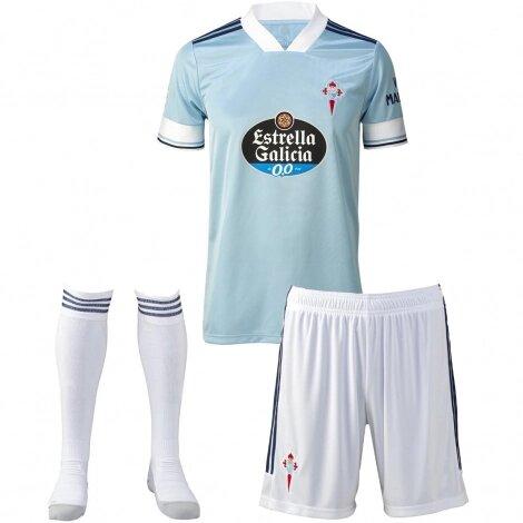 Детская форма Сельта домашняя сезон 2020-2021 (футболка + шорты + гетры)