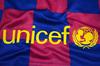 Барселона (Barcelona) Детская футбольная форма домашняя сезона 2019-2020