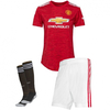 Манчестер Юнайтед Футбольная форма детская для домашних игр 2020-2021 Бруно Фернандеш 18