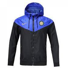 Куртка Интер черно-синяя Nike сезон 2018/19