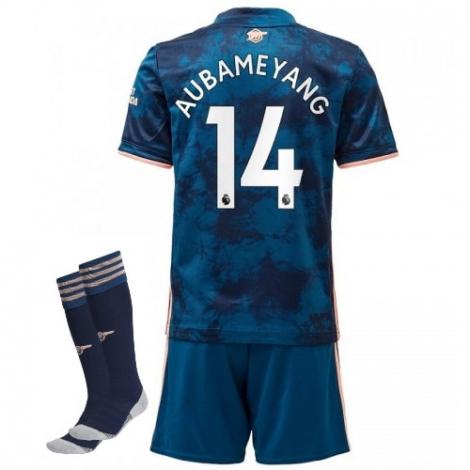 Детская резервная футбольная форма Арсенала Обамеянг номер 14